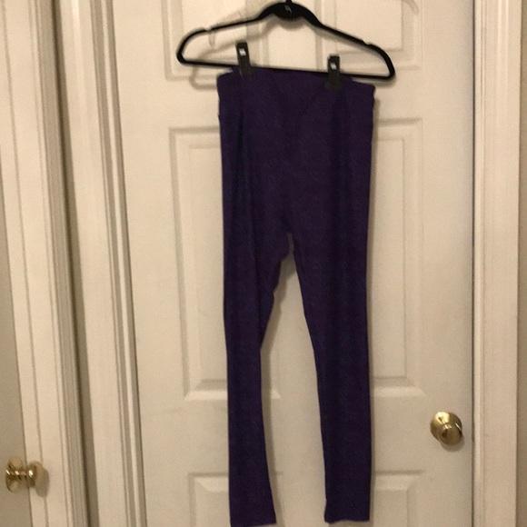 NWOT brand new Women's LuLaroe Purple  leggings